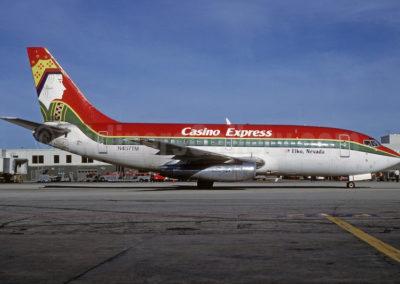 FBCasino Express 737-200 N457TM (92-Queen)(Grd-1) MIA (BD)(46)-L